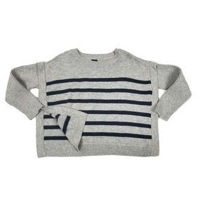 Gap Knit Layered-lool Sweater Poncho Tunic 3